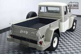 Jeep Bed Frame 1962 Jeep Willys Truck 4x4 Frame Off Restoration 166 Miles