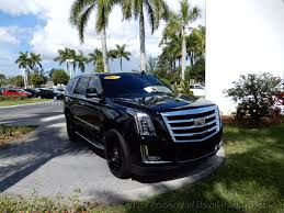 2016 used cadillac escalade 2wd 4dr standard at royal palm toyota