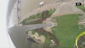 Gateway Arch Gravity Defying Views From The Gateway Arch Cnn Video