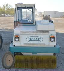 tennant 95aa power sweeper item i6370 sold november 19