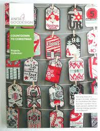 anita goodesign countdown to christmas projects collection 25