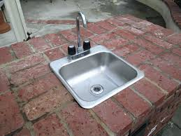 Outdoor Kitchen Sinks And Faucet Marvelous Outdoor Kitchen Sinks Image Of Outdoor Kitchen Sinks And