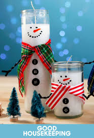 how to turn dollar store candles into adorable snowmen holiday