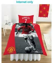 Manchester United Bed Linen - duvet covers manchester united single duvet cover set