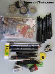 what i used of my travel sketch kit on my trip u2013 tonesandtints