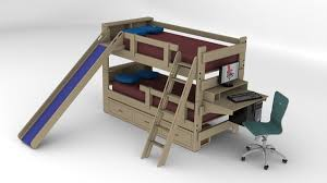 Bed With Stairs And Desk Bedroom Extraordinary Bedroom Bunk Beds With Stairs And Desk
