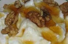 yogurt with honey and nuts food recipies
