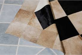 Black And Beige Rug Beige And Black Leather Area Rug Squares Design By Shine Shine Rugs
