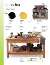 kitchen in spanish themed vocabulary kitchen la cocina spanish vocabulary
