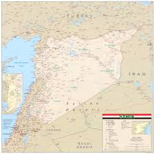 Damascus Syria Map by Download Free Syria Maps