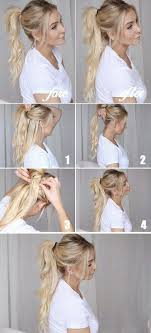 easy hairstyles for waitress s 25 gorgeous ponytail hailstyle hacks and tutorials thin hair