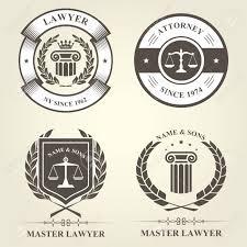 stock bureau attorney and lawyer bureau emblems and badges royalty free