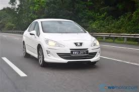 peugeot two door car review 2012 peugeot 408 2 0 litre and 1 6 litre turbo wemotor com