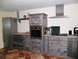 cuisine bois et metal cuisine bois et metal top habillage pour meuble de cuisine en mtal