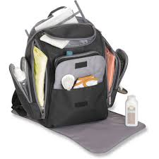 j is for jeep perfect pockets backpack diaper bag black grey