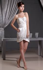 mini ivory cocktail party dress short wedding dresses