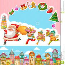 christmas cartoons royalty free stock image image 35129586