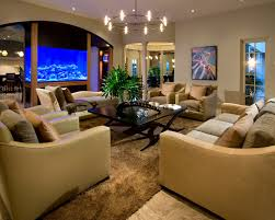 dining room table fish tank division of living room and dining room with fish tank in center