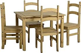 Corona Dining Table And Chair Sets Full Range Pine Dining Room - Pine dining room sets