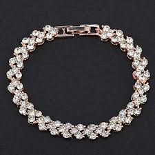 bangle style charm bracelet images Bracelets women fashion roman style crystal diamond bangle jpg