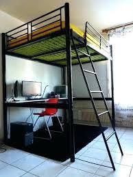 bureau 2 places lit mezzanine bois 2 places lit places pas cher conforama