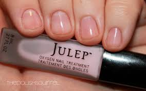 review diary julep oxygen nail treatment the polish squirrel