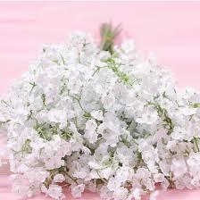 delicate fashion 10 pcs white gypsophila artificial fake beautiful