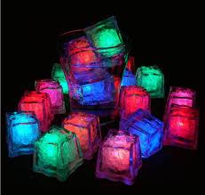led glowing light 3cm magic glow led