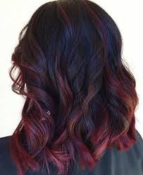 best summer highlights for auburn hair 30 dark red hair color ideas sultry showstopping styles