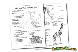 all worksheets animal adaptations worksheets free printable
