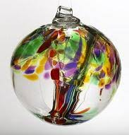 kitras glass tree of enchantment ornaments from aura