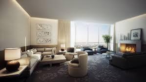 prepossessing hotel room with living room model fresh in fireplace