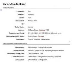 UK CV Examples Finance   sample cover letter for retail Job