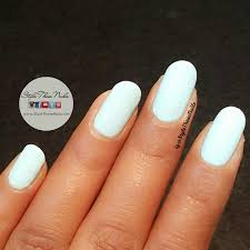 style those nails 40 great nail art ideas pale blue base with