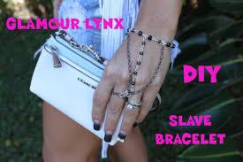 diy hand bracelet images Diy how to make easy hand wrist ring chain bracelet glamour lynx jpg