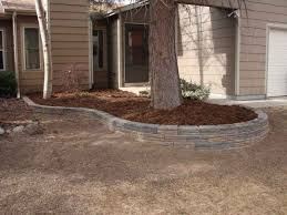 retaining walls and raised garden bed edging four seasons