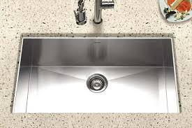 houzer stainless steel zero u0026 small radius kitchen sinks