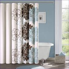 Coral And Grey Shower Curtain Bathroom Magnificent Grey Brown Shower Curtain Green Shower