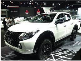mitsubishi pickup 3 ton highlights from 38th bangkok international motor show 2017
