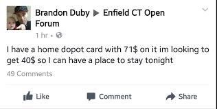 home depot seekonk black friday idiots defend slugrake selling 71 home depot gift card for 40 in