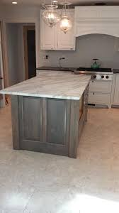 Kitchen Cabinet Wood Stains Gray Stained Washed Hickory Cabinets House Pinterest