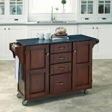 cherry kitchen islands home styles create a cart cherry kitchen cart with black granite