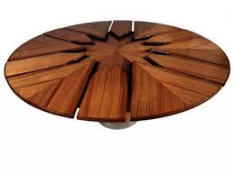 dining round expandable dining table expanding round table for