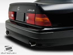 lexus floor mats ls400 1995 1997 lexus ls series ls400 duraflex vip rear bumper 1pc body