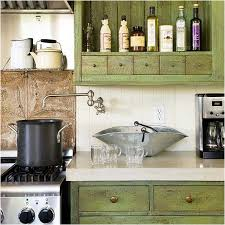 cottage kitchens ideas awesome cottage kitchen ideas with brown cabinet and storage