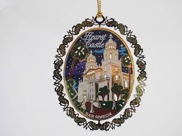 casa grande metal ornament oval hearst castle official