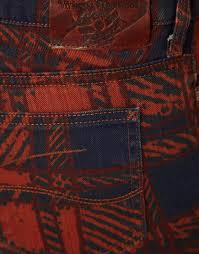 Vivienne Westwood Anglomania For Lee Skinny Jeans In Printed