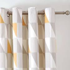 Lined Nursery Curtains by Http Www Dunelm Com Product Yellow Skandi Thermal Eyelet