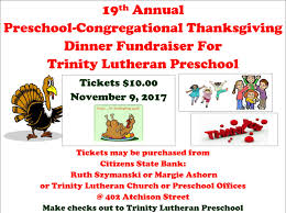 congregational thanksgiving dinner fundraiser county news