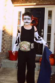 wwe halloween costumes for kids que sara sara trick or treat now gimme some a your candaaay